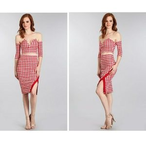2 Piece checkered skirt set